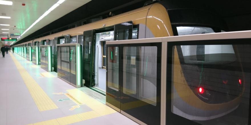 Yamanevler-Sancaktepe metro seferleri durduruldu