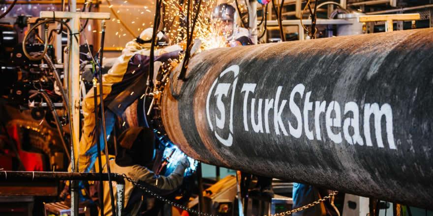 Türk Akımı projesinin yüzde 66'sı tamamlandı
