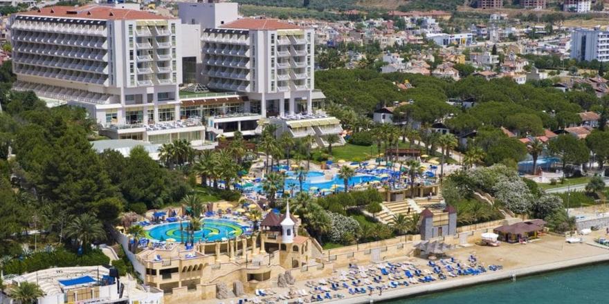 Haluk Ulusoy'un Kuşadası'ndaki oteli satılıyor