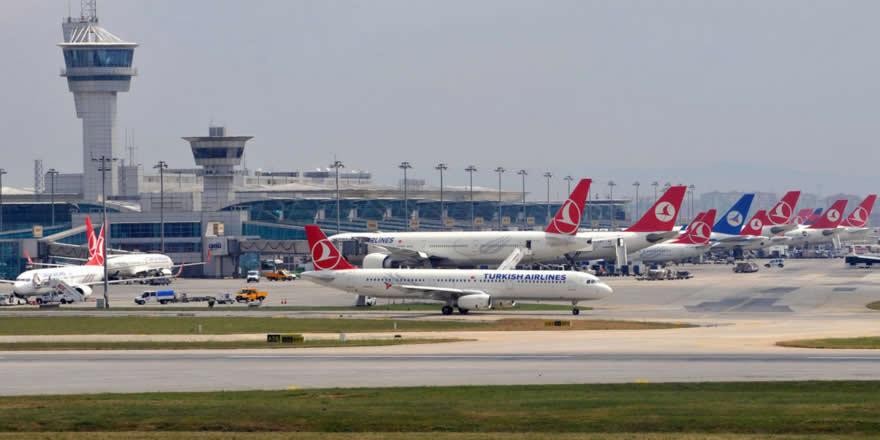 İstanbul'a havayoluyla 58 milyon yolcu geldi