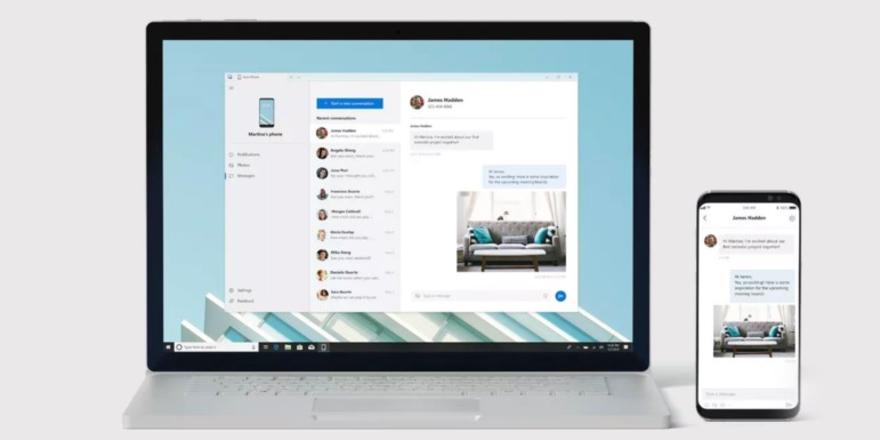 Microsoft Your Phone kullanımda!