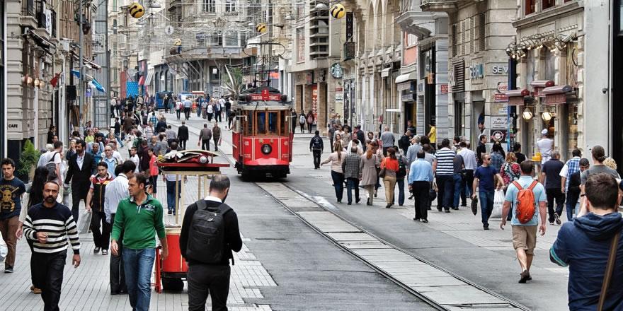 Taksim'de hayat normale döndü