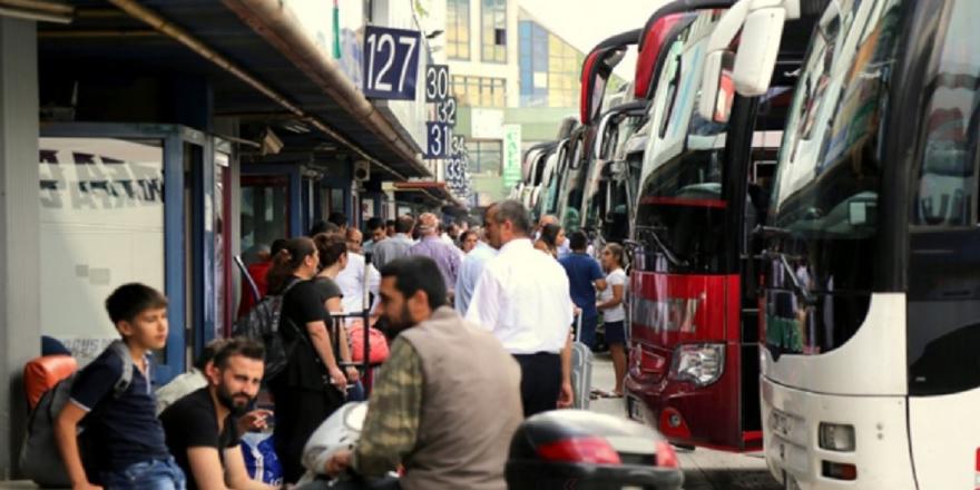 Bayram öncesinde otobüs biletleri tükendi