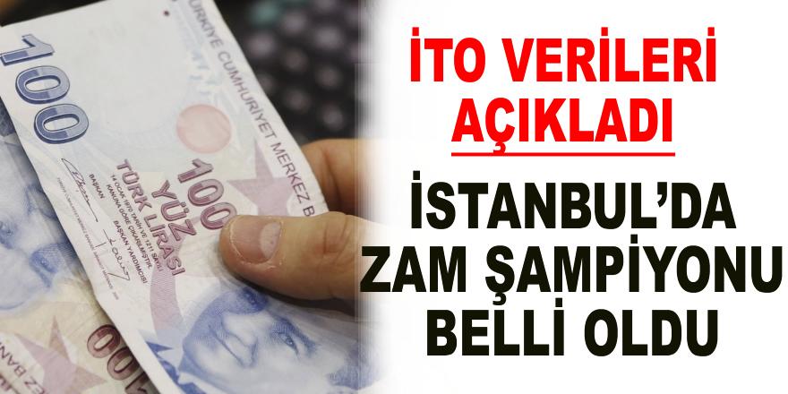 İstanbul'da zam şampiyonu yaş üzüm oldu