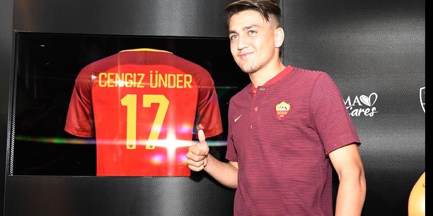 Roma'nın en iyi genç oyuncusu Cengiz Ünder