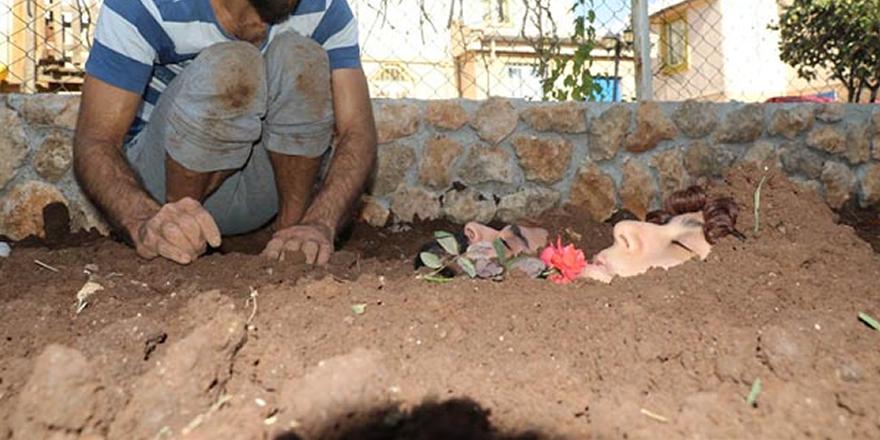 Diyarbakır'da diri diri toprağa gömüldüler!