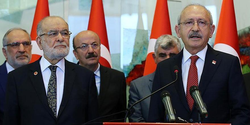 Saadet Partisinden CHP'ye 'uyum yasası' ziyareti