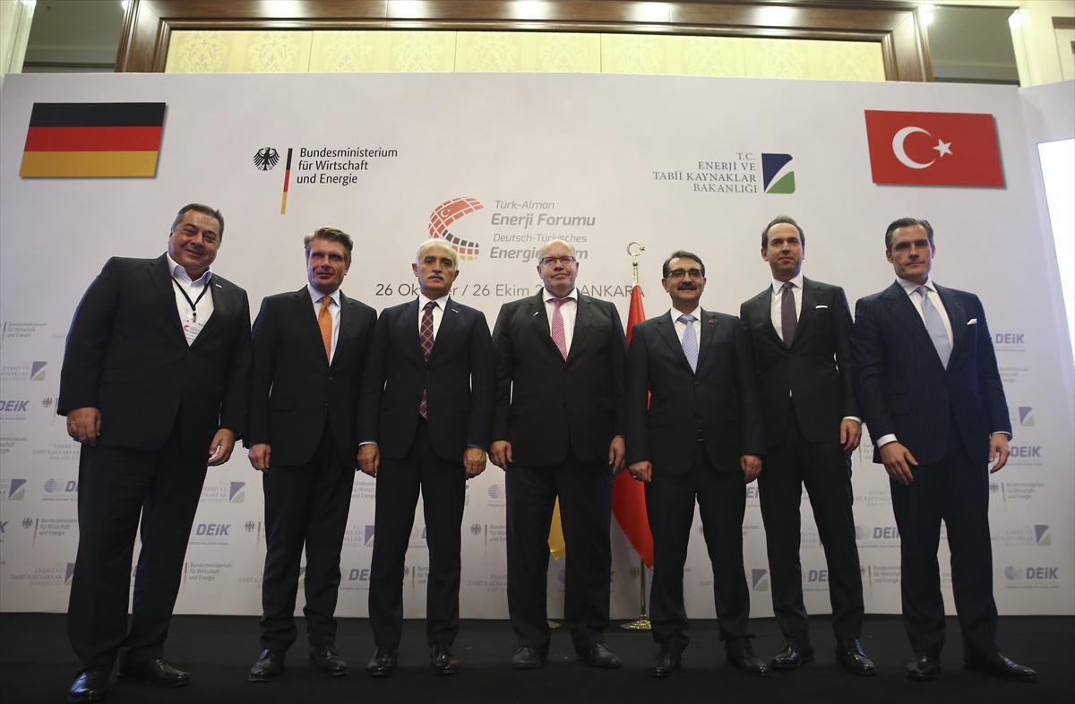 Türkiye ile Almanya'dan enerji iş birliği