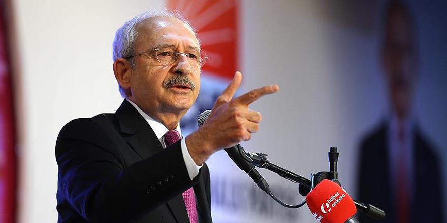 CHP Genel Başkanı Kılıçdaroğlu: İç çekişmelere yol açanın bu partide yeri yoktur