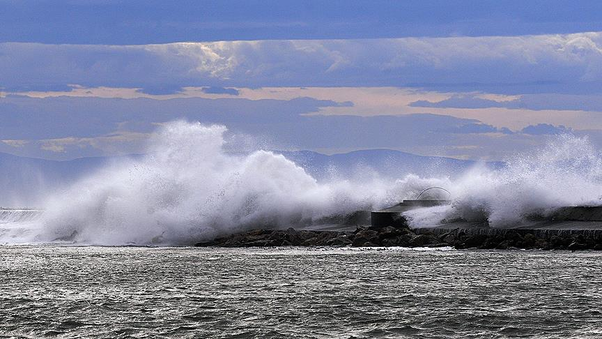 Marmara Denizi'nde fırtına uyarısı