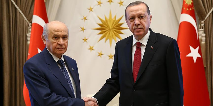 Cumhurbaşkanı Erdoğan'dan Bahçeli'ye davet