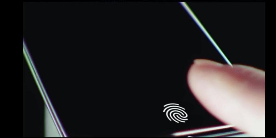 Ekran üstü parmak izi tarayıcılı ilk telefon duyuruldu