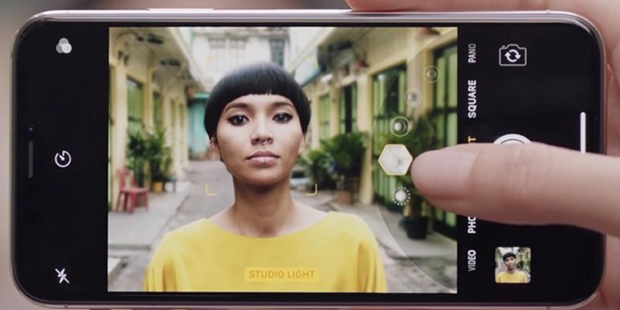 iPhone X'un portre aydınlatması nasıl çalışıyor?