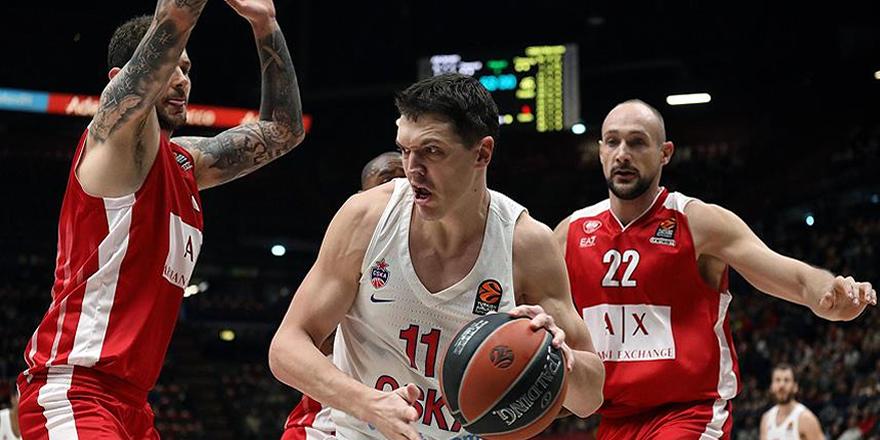 Avrupa'da CSKA liderliğini sürdürdü