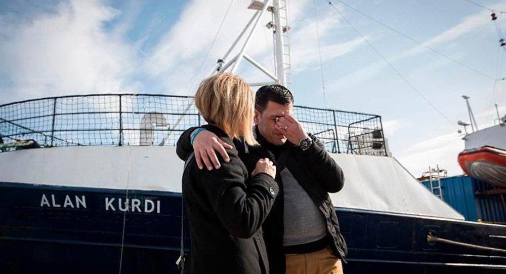 Kurtarma gemisine Aylan Kurdi'nin adı verildi
