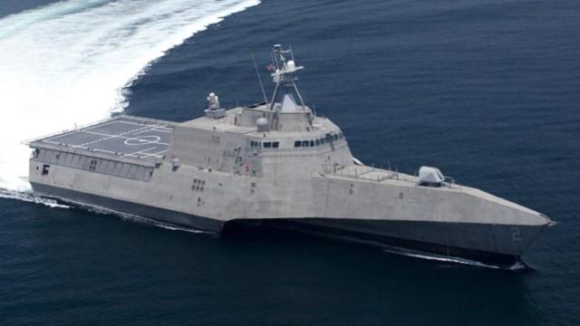 ABD donanmasının hayalet gemisi suya indirildi!