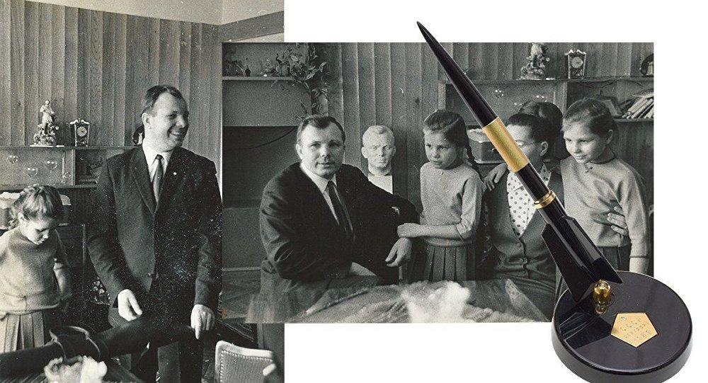 Uzaya çıkan ilk insan Gagarin'in şahsi eşyaları satışa çıkarıldı