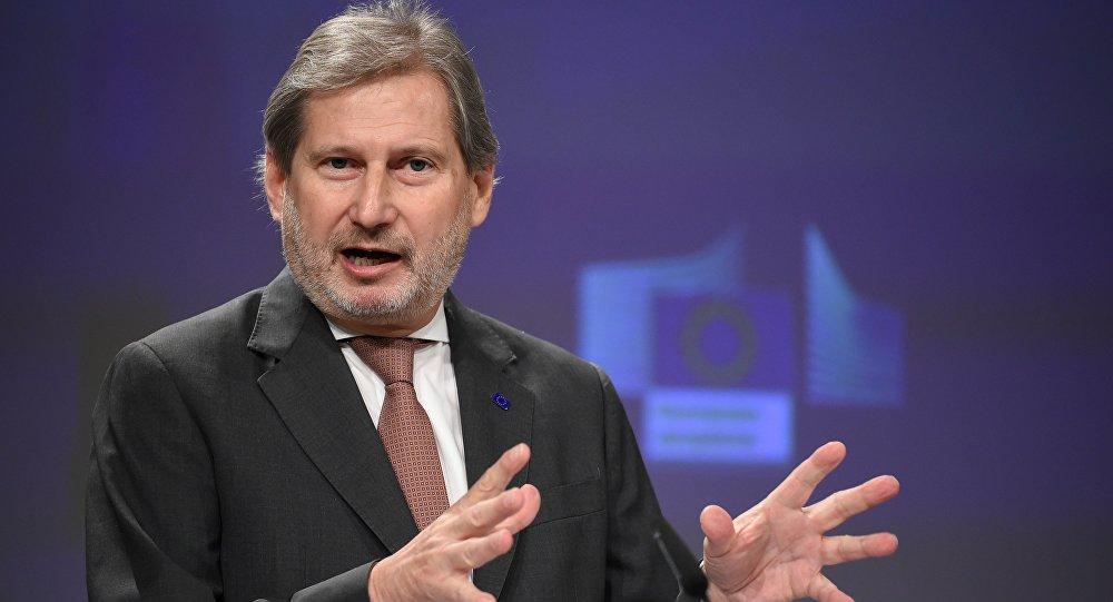 Hahn: Türkiye AB üyelik projesini devam ettirmesin