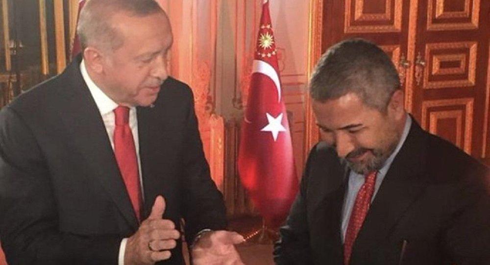 Erdoğan'dan gazeteci Ateş'e doğum günü sürprizi