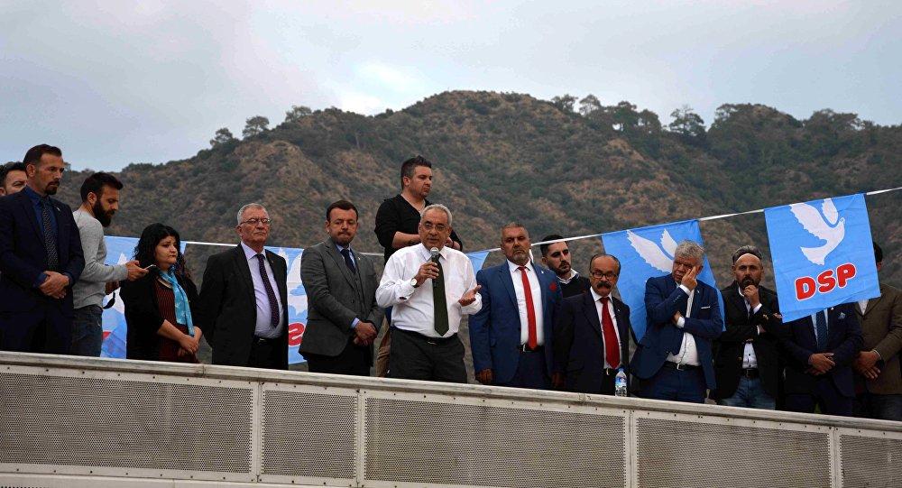 DSP Genel Başkanı Aksakal: CHP'nin ülkeyi yönetmek gibi bir derdi yok