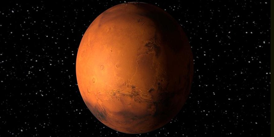 Mars'ta buzul tabakaları bulundu!