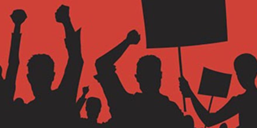Binlerce işçi grevde