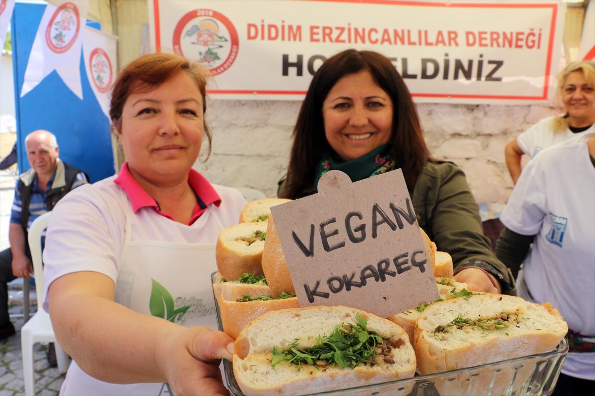 Aydın'da veganları buluşturan festival (FOTO GALERİ)