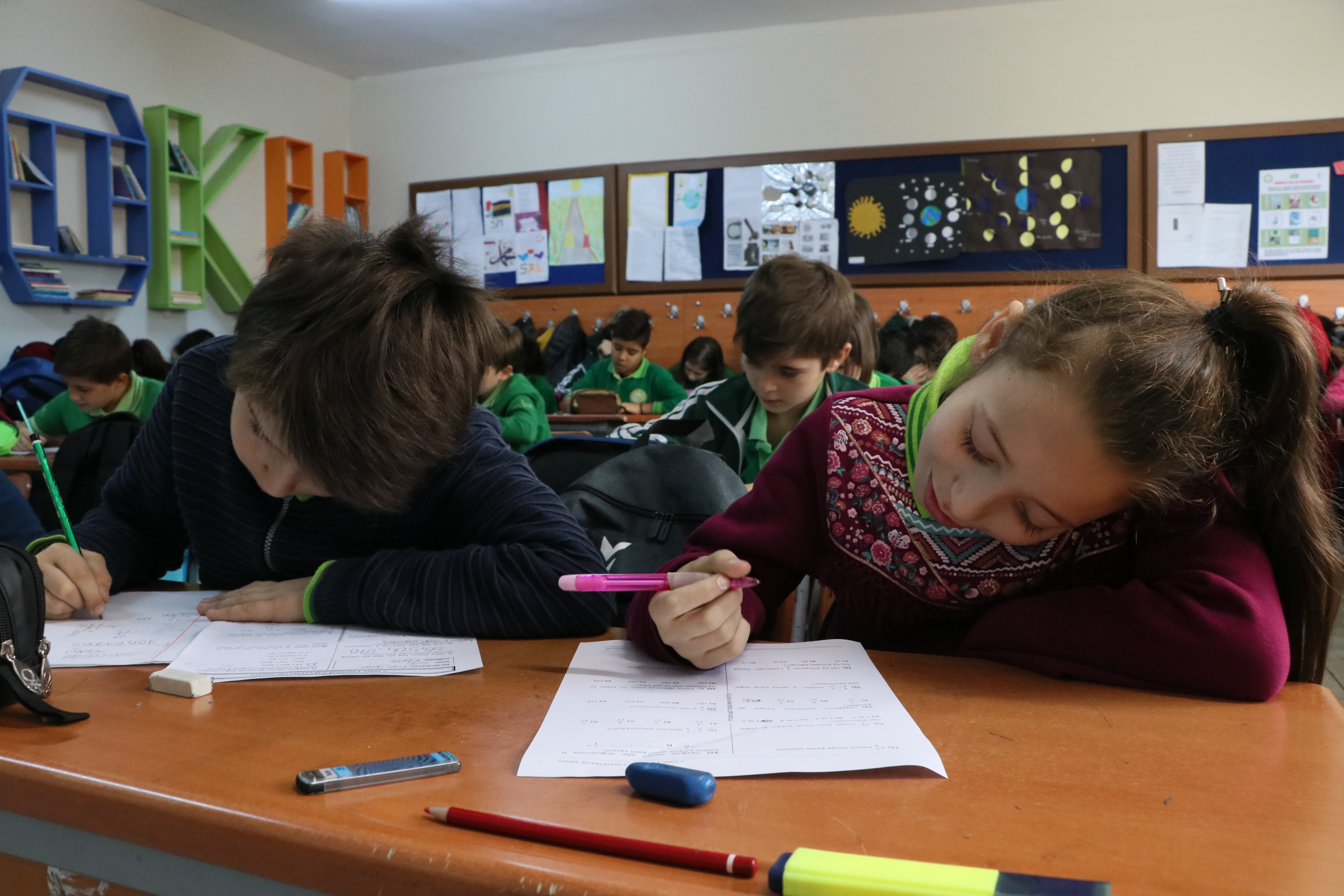 800 bin öğrencinin katıldığı sınav sonuçları açıklandı