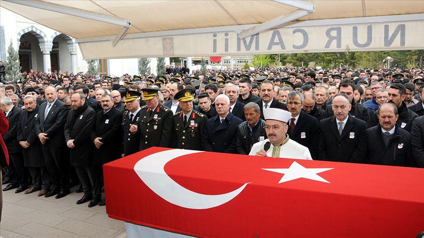 Piyade Sözleşmeli Er Çetin, son yolculuğuna uğurlandı