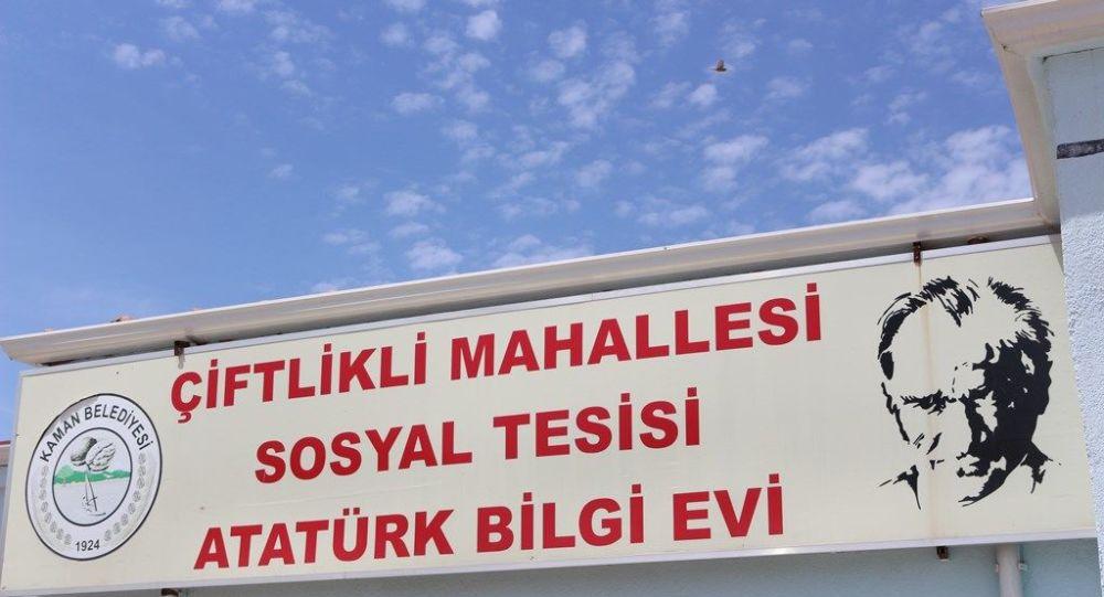Kaman Belediye Başkanı Çolak'tan Atatürk Bilgi Evi açıklaması