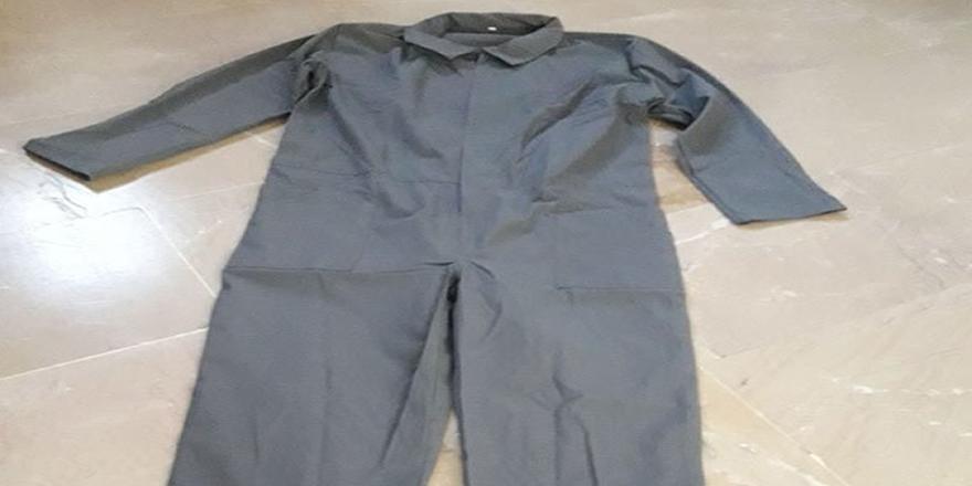 Ve tek tip kıyafet cezaevinde