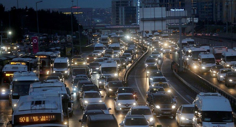 İstanbul trafik sıkışıklığı endeksinde altıncı sırada
