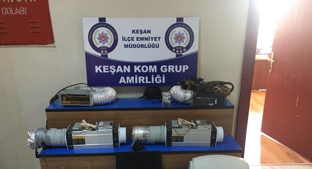 Edirne'de kaçak elektrikle Bitcoin üretilen eve baskın