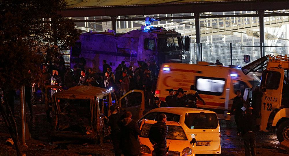 İçişleri Bakanlığı: Beşiktaş'taki terör saldırısının faillerinden biri yakalandı