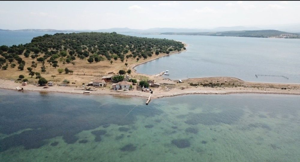 Balıkesir'de 105 milyon liraya satılık ada
