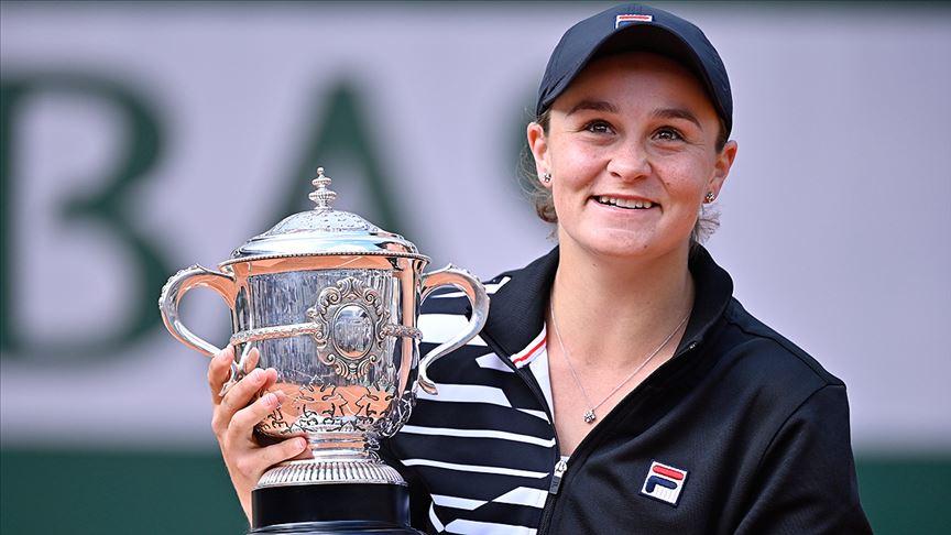 Kadın tenisinin yeni bir numarası Barty
