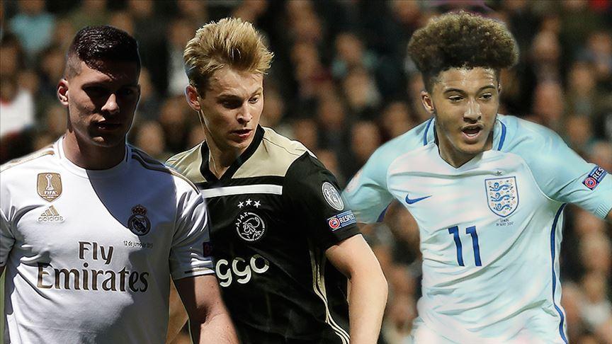 Avrupa futbolunun yükselen değerleri