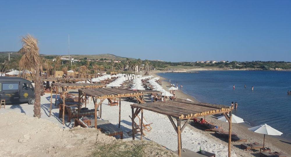 Vatandaşların mücadelesi sonrası Çeşme'deki halk plajı işgaline son verilecek