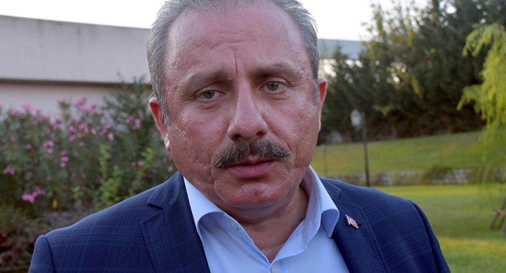 TBMM Başkanı Şentop Moskova'ya gitti