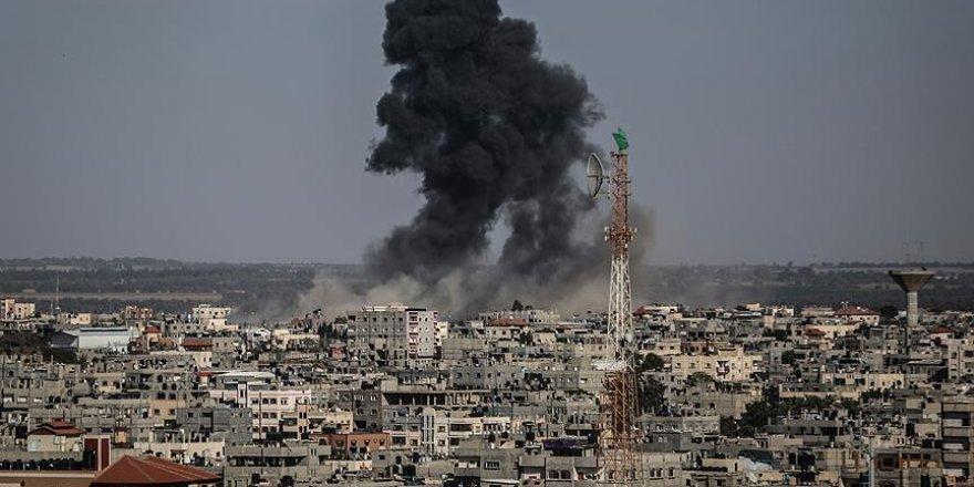 İsrail'den Gazze'ye hava saldırısı düzenledi