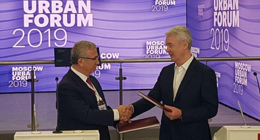 Mansur Yavaş Rusya'da: Ankara-Moskova hattı canlanacak
