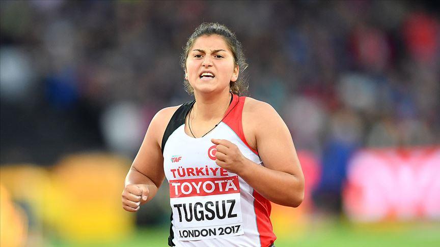 Milli sporcu Eda Tuğsuz'dan gümüş madalya