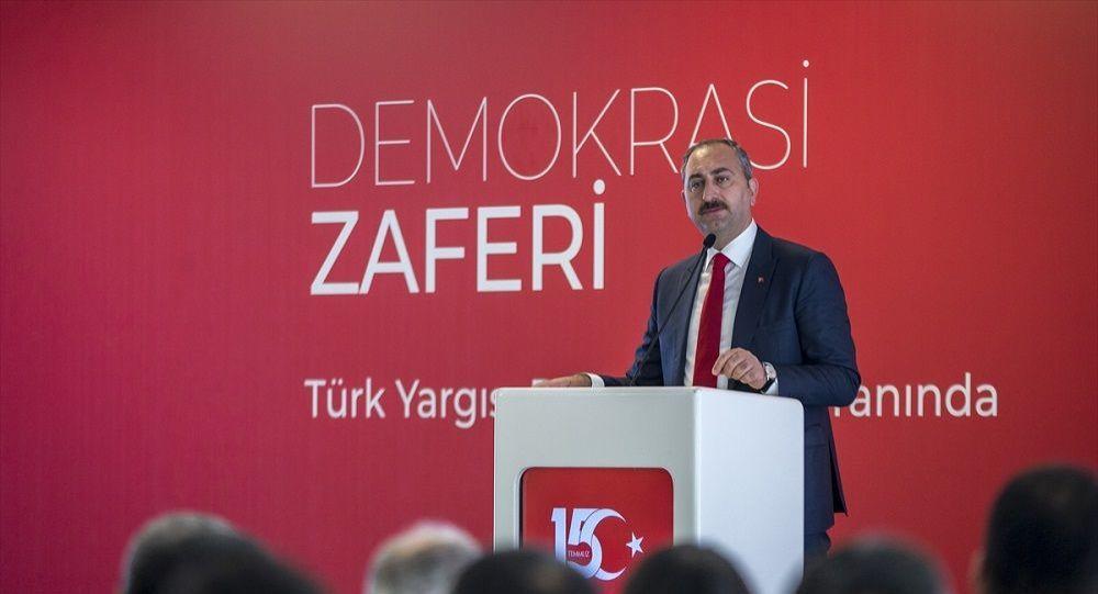 Adalet Bakanı Gül: Türk yargısı rüştünü ispat etmiştir