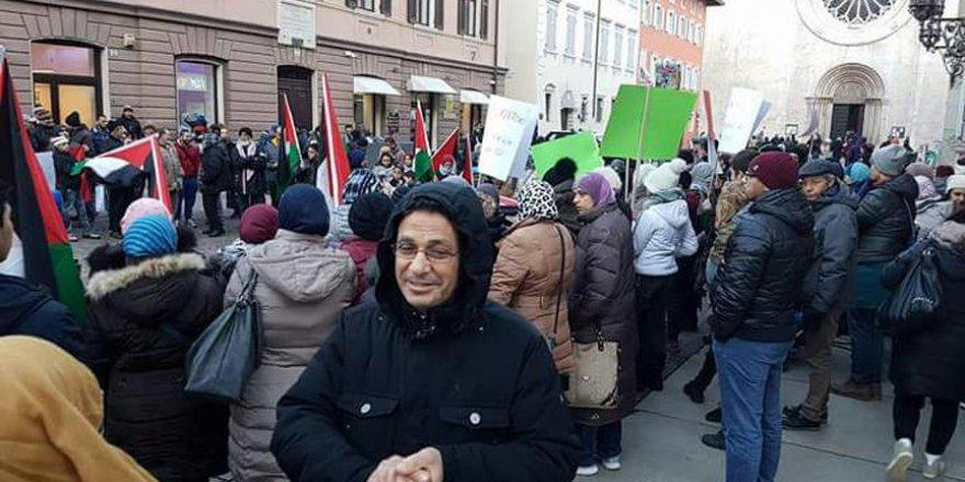 ABD'nin Kudüs kararı İtalya'da protesto edildi