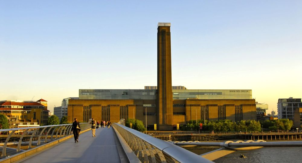 Sanat Müzesi Tate Modern'de altı yaşında bir çocuk 10. kattan 'atıldı'