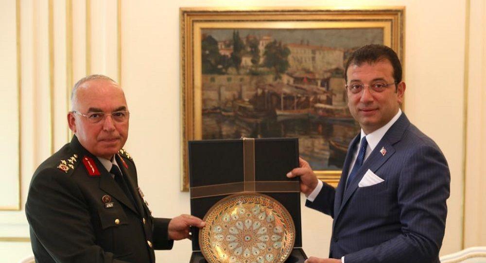 Birinci Ordu Komutanı Avsever'den İBB Başkanı İmamoğlu'na tebrik ziyareti