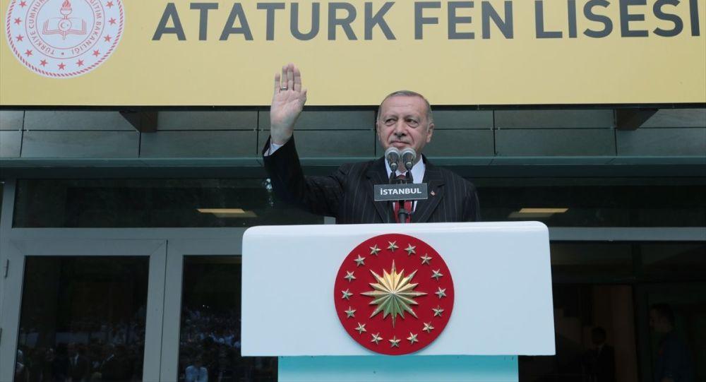 Erdoğan: Eğitimde Batı'yı kopyalamayı tercih ettik, kayıp nesiller yetiştirdik