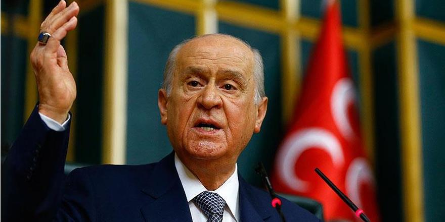 MHP Genel Başkanı Bahçeli: Afrin'in huzura kavuşacağı günler yakındır