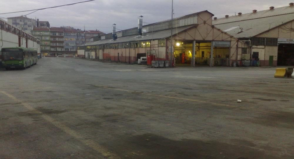 Topkapı'daki İETT garajı, park oluyor