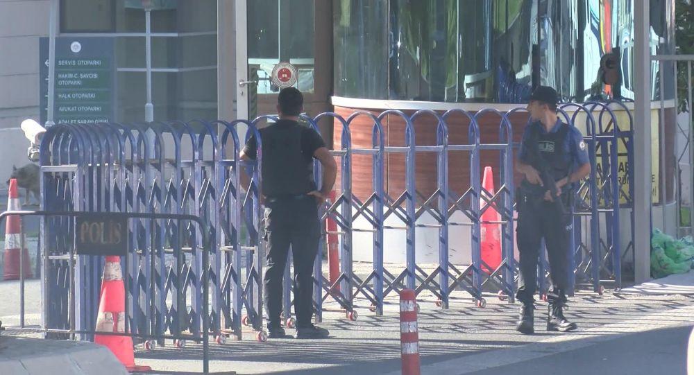İstanbul Adalet Sarayı'nda özel güvenlik görevlisi intihar teşebbüsünde bulundu